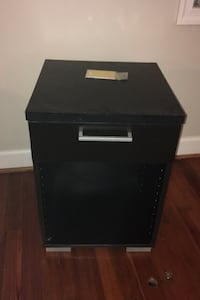 Simple end table/cabinet