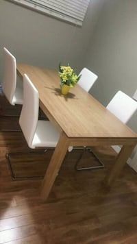 Modern table and soft comfy chairs Negotiable  Edmonton, T5C 2L1