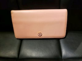 Authentic Chanel Pink Leather bifold Wallet