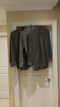 Men's Shirts Size (3), 15-15 1/2  Vaughan, L6A 1A8