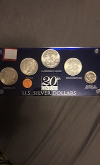 Great Silver Dollar Coin Collection