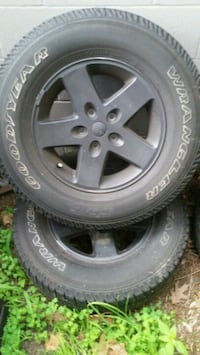 4 jeep wrangler rims and tires Salem, 03079