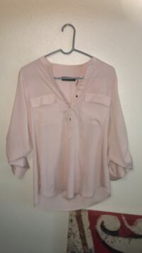 Sheer Chiffon like Blouse Ivanka Trump line Lafayette, 70506