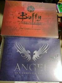 The Complete series of buffy and angel
