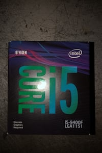 CORE i5 / i5-9400F LGA1151 9TH GEN Hyattsville, 20783