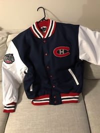 Montreal Canadiens NHL100 Classic leather Coaches jacket  538 km