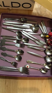 stainless forks and spoons  Toronto, M1P 5E5