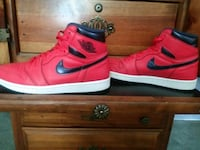 Jordan 1s red blue lettermans size 9 and a half Stockton, 95203