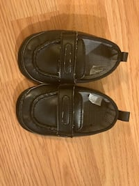 Black Baby Loafers 12-18 months Germantown