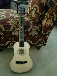 Kids white and black acoustic guitar Michigan, 48380