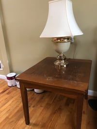 Coffee and end table with lamp Federal Way, 98023