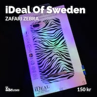 iDeal Of Sweden Deksel ZAFARI ZEBRA  Bergen