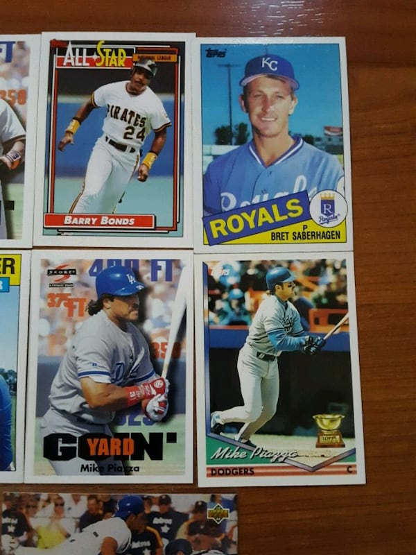 Baseball mix cards (16 cards collection)  cc72403f-59be-49b5-903b-4d2860e61682