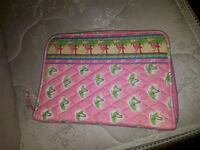 pink and green floral leather wristlet Newmarket, L3X 1X5