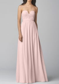 WTOO Bridesmaid Dress, Blush Oakton