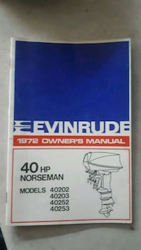 1972 evinrude owners manual