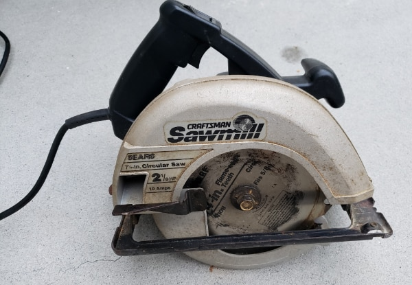 """Used CRAFTSMAN 7-1/4"""" CIRCULAR SAW For Sale In Graham"""