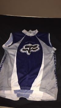 Black and white fox racing jacket North Battleford, S9A 3J3