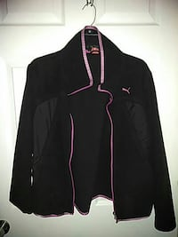 women's black and pink Puma full zip track jacket San Diego, 92154