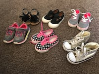 toddler's assorted shoes Bakersfield, 93308