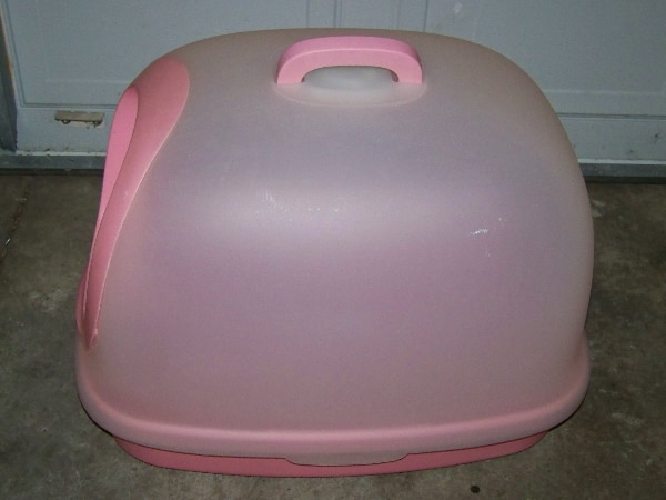 X-large Kitty litter box 4f3e94cd-b5e0-4ba5-9a58-a29120a0b7e8