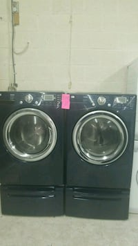Washer And dryer  color Blue  good condition  Laurel, 20707