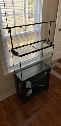 Make an offer!! Black finish/frame Fish tank 55 Gallons!! Newport News, 23601
