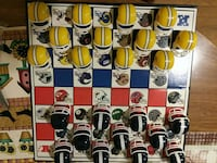 """""""Green Bay Packers VS Chicago Bears Checkers Set"""" Webster, 33597"""