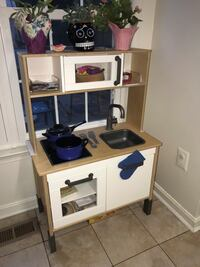 IKEA child's kitchen set with pots and pans  North Potomac, 20878