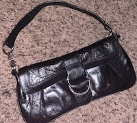 Hobo International Black Leather Clutch Des Moines, 50313