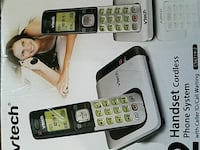 2 handset cordless phone system Sterling Heights