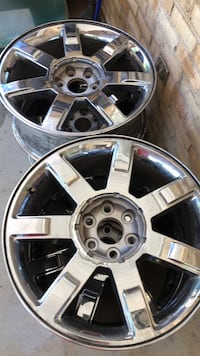 Chrome 5-spoke car wheel Shepherdstown, 25443