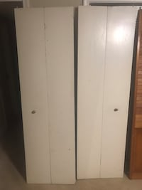 White doors for closet Fairfax, 22033