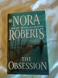 Nora Roberts The Obsession book Garden City, 83714