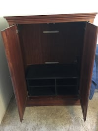 Clothing/TV Armoire
