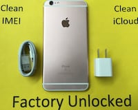 128GB Rose Gold(Pink) iPhone 6s Plus(6s+) - Factory Unlocked  New York, 10018