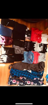 New girls clothes size 10/12