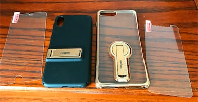 Brand new I Phone 8 Plus and I Phone X cases for $10 each