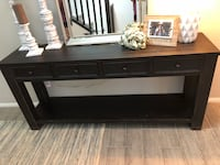 brown wooden 2-drawer console table Henderson, 89044