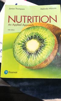 Nutrition applied approach 5th edition Los Angeles, 91352