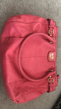women's pink leather tote bag Edmonton, T5H 3Y3