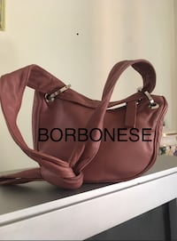 borsa da donna in pelle marrone 7016 km