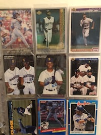 Ken Griffey cards comes with 2 Rookie cards Antelope, 95843