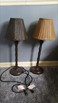 Indoor/Outdoor Wicker Rataan Lamps Ellicott City, 21043