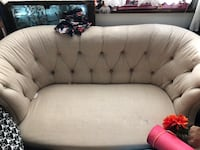 World Market Tufted Couch