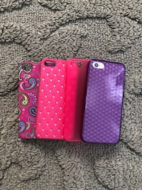 I-Phone 5 cases...4 for 1 price Winchester, 22602