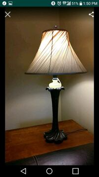 black and white table lamp Liberty, 29657