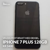 svart iPhone 7 pluss sak Oslo, 1266