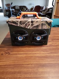 Ammo can boombox  Silverhill, 36576