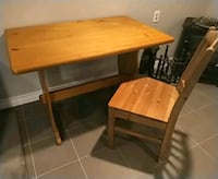 Wood table great quality Toronto, M2H 2Y3
